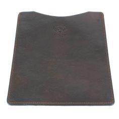 Etuis Ipad ou Tablette cuir, fait main marron foncé Natalizia Etuis Tablettes