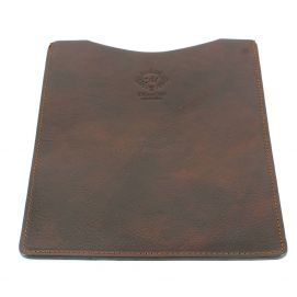 Etuis Ipad ou Tablette cuir, fait main marron Natalizia Etuis Tablettes