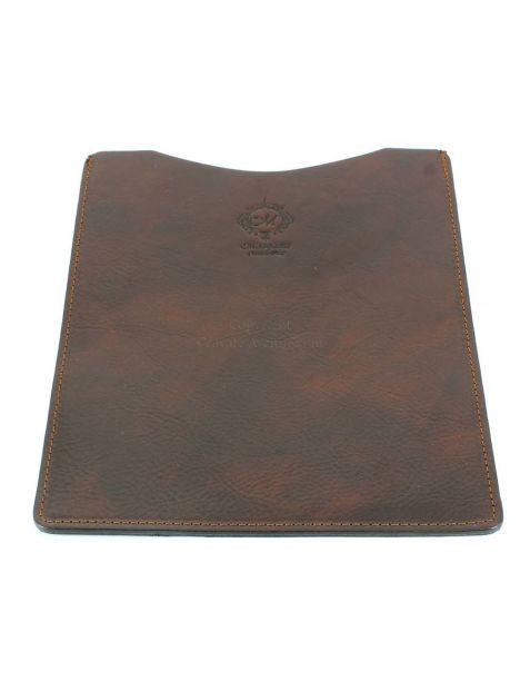 Etuis Ipad ou Tablette cuir, fait main marron Natalizia Etuis Tablettes