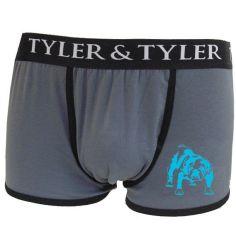 Boxer homme, Barry le Bulldog bleu