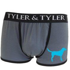 Boxer homme, labrador bleu