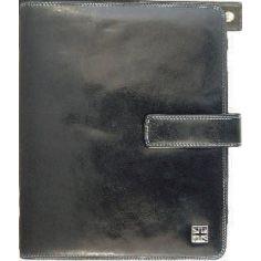 Housse Ipad en cuir, Tyler & Tyler, Noir Union Jack white Tyler & Tyler Etuis Tablettes