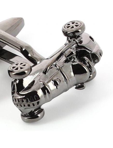 Boutons de manchette, My Monopoly black Car Clj Charles Le Jeune Bouton de manchette