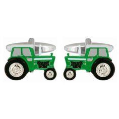 Bouton de Manchette, Tracteur vert