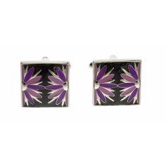 Simon Carter, fleurs noir et violet