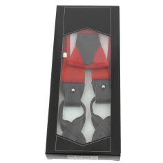 Bretelle 3 attaches Hercule, rouge cardinal