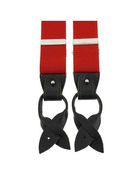Bretelle 3 attaches Hercule, rouge cardinal