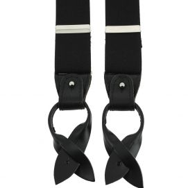Bretelle 3 attaches Hercule, noir charbon
