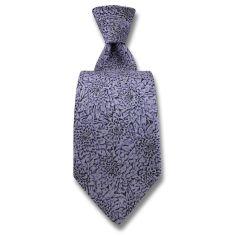 Cravate Robert Charles Chrysanthèmes Lilas Robert Charles Cravates