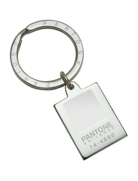 Porte clés Pantone, Sonia Spencer, Blanc de Blanc Sonia Spencer Porte clés