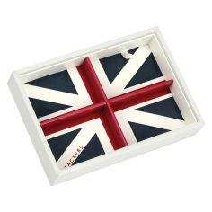 Boite de rangement empilable UK blanc, Modèle 2 Stackers UK Ecrins
