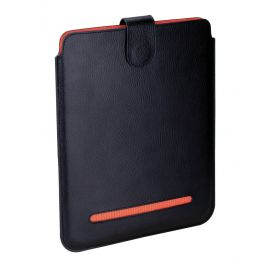 Etuis Noir/orange cuir Ipad 1,2 et 3, Dulwich Dulwich Designs Etuis Tablettes