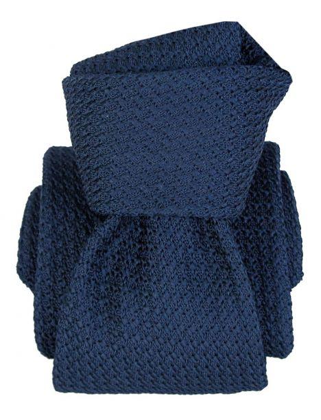 Cravate grenadine de soie, Segni et Disegni, Beverly Bleu Segni et Disegni Cravates