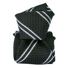 Cravate grenadine de soie, Segni & Disegni, Club 03