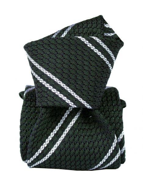 Cravate grenadine de soie, Segni & Disegni, Club 03 Segni et Disegni Cravates