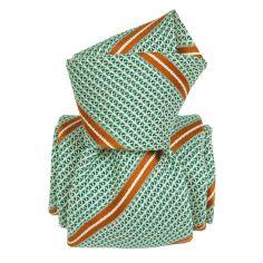 Cravate grenadine de soie, Segni & Disegni, Villa verde