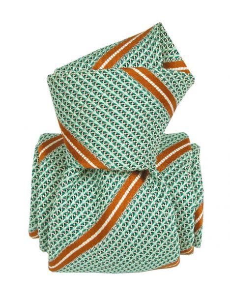 Cravate grenadine de soie, Segni & Disegni, Villa vert Segni et Disegni Cravates