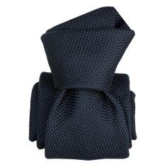 Cravate grenadine de soie, Segni & Disegni, Lucia Marine