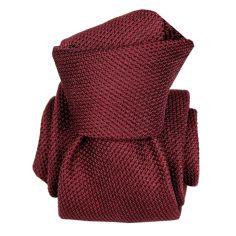 Cravate grenadine de soie, Segni & Disegni, Lucia Bourgogne