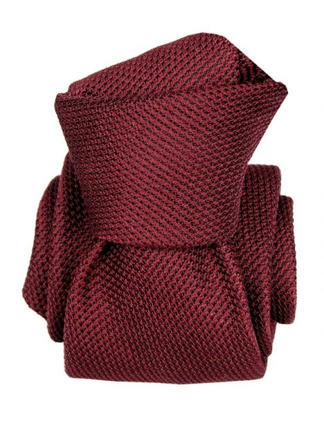 Cravate grenadine de soie, Segni & Disegni, Lucia Bourgogne Segni et Disegni Cravates