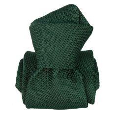 Cravate grenadine de soie, Segni & Disegni, Lucia vert