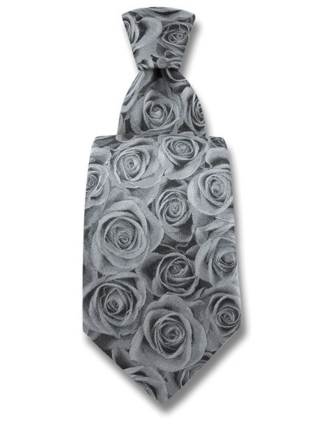 Cravate Robert Charles Rose argent Robert Charles Cravates