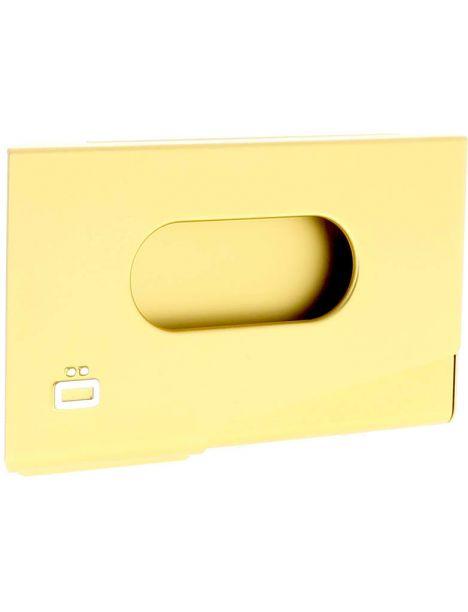 Porte-carte de visite alu or, Ogon Design, One Touch Ogon Designs Porte cartes de visite