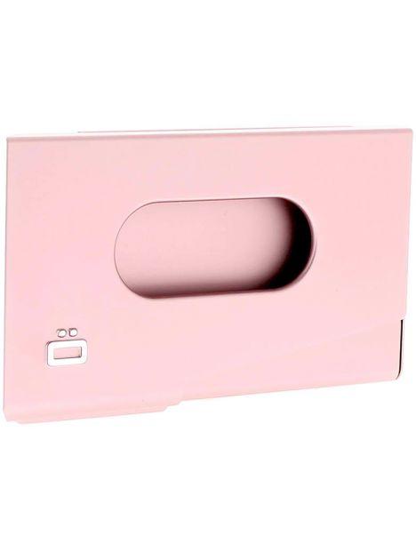 Porte-carte de visite alu rose, Ogon Design, One Touch Ogon Designs Porte cartes de visite