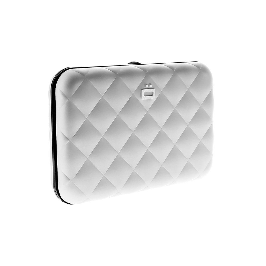 Porte carte aluminium silver quilted button ogon designs ogon des - Porte carte aluminium ogon ...