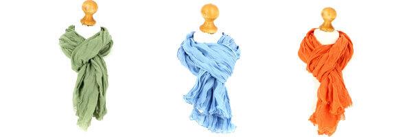 Accessoires d automnes cheche homme vert bleu