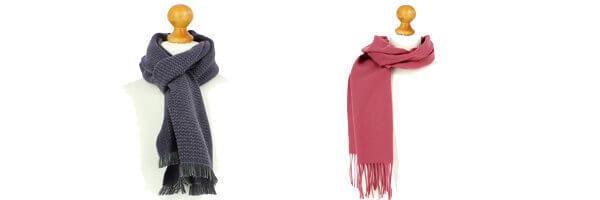 Accessoires dautomnes echarpe laine australie rose mauve