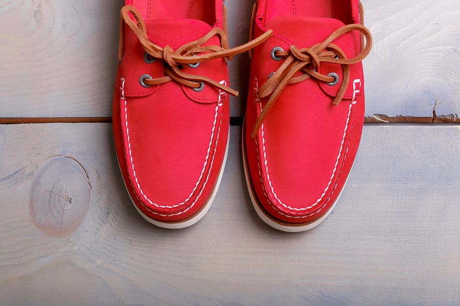 chaussures-bateau-homme-rouge