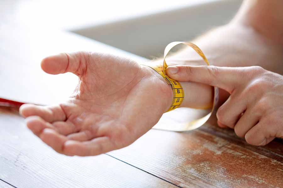 mesure taille du poignet pour un bracelet