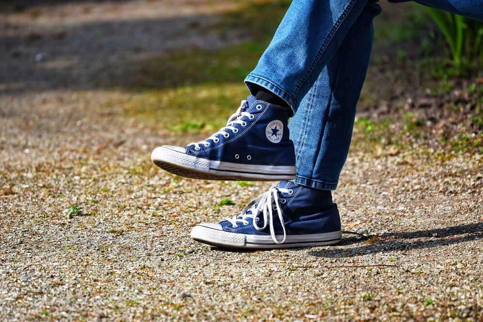casual chic chaussures converses