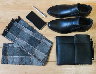 accessoires pour homme d'affaires au bureau
