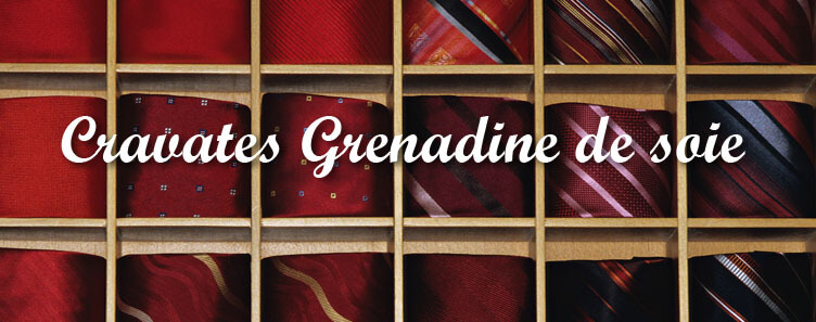 Grenadine de soie