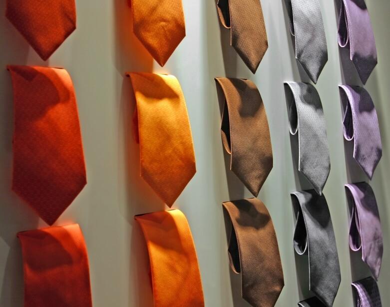 cravates mogador choix de couleurs