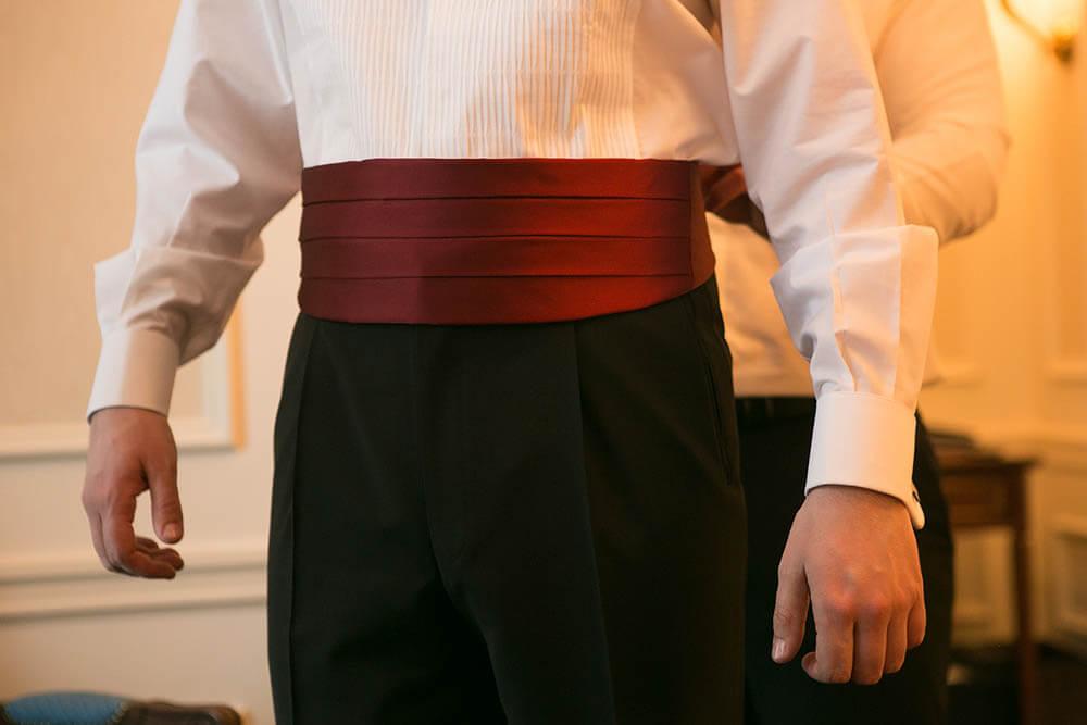 ceintures de smoking homme en soie