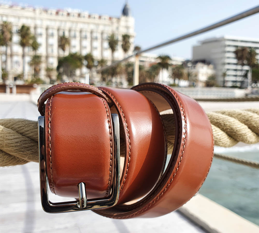 ceinture en cuir homme luxe