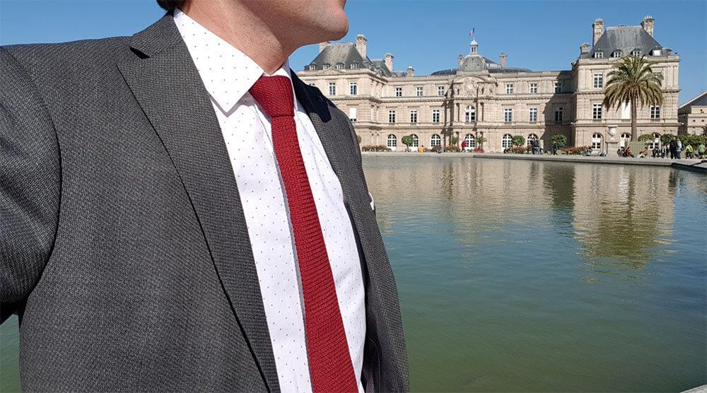 cravate de sénateur
