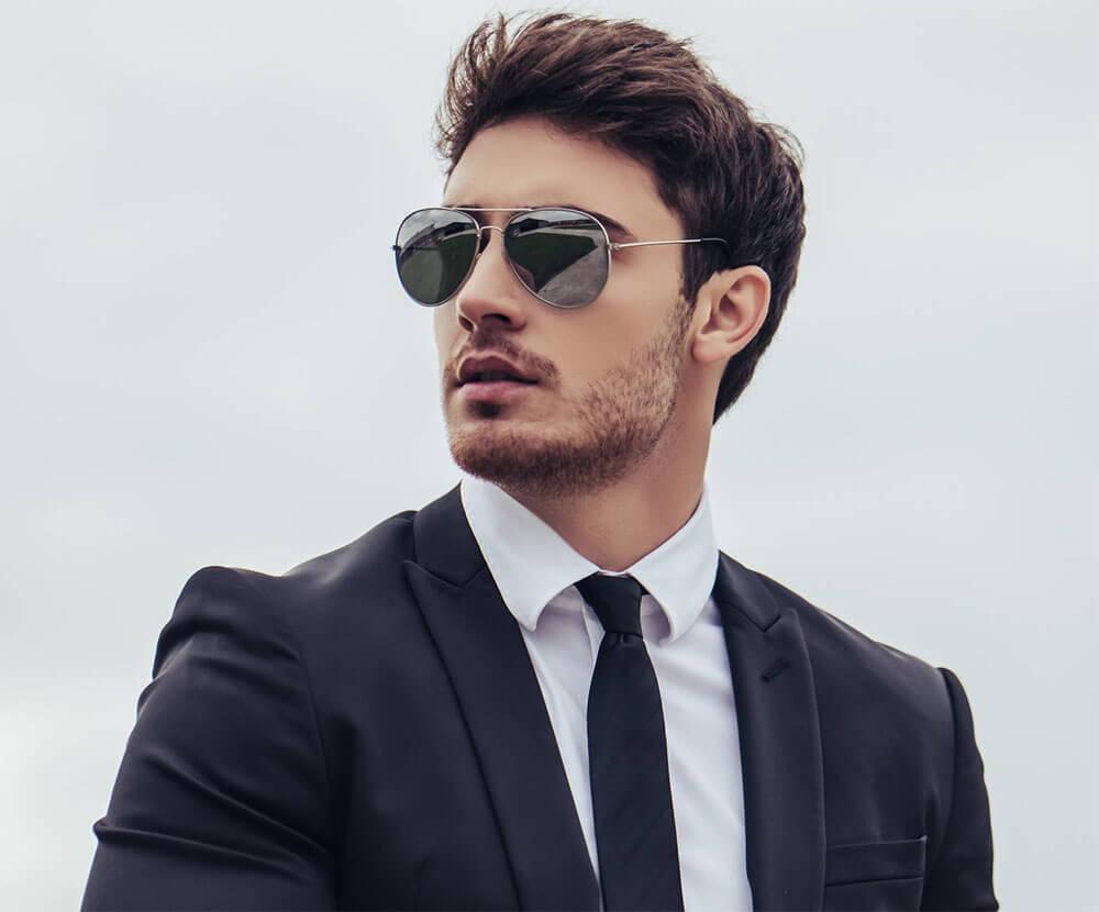 cravate slim homme