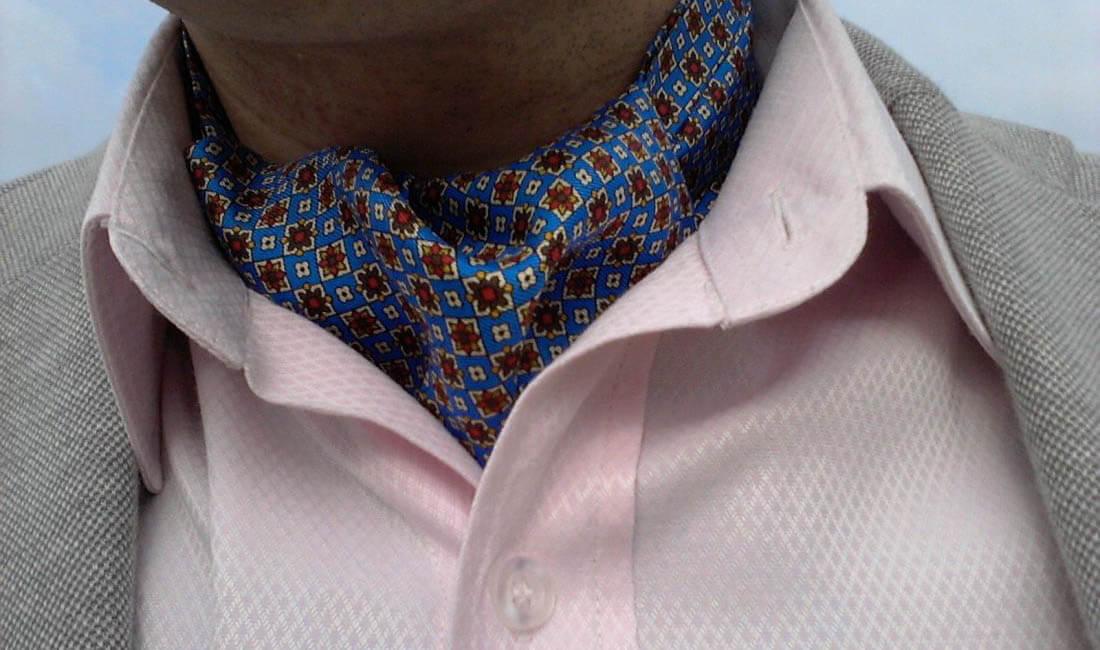 foulard pierre henry ascot en soie