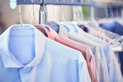 Chemises homme lavé et froissées