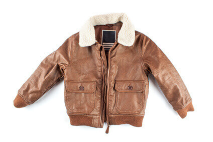 Children's leather jacket