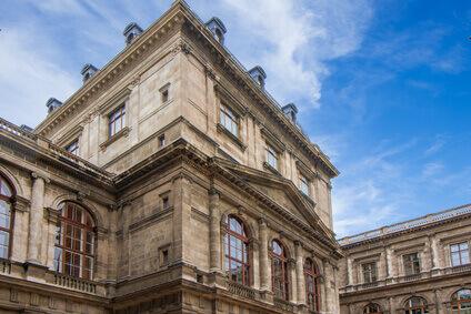 Corps de bâtiment de luniversité de Vienne, lAutriche