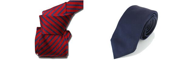 Cravate Classique Segni Disegni, Mogador, Brescia, Rouge marine et cravate six plies Tont and Paul