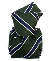 Cravate Classique Segni et Disegni- Savone vert Kak