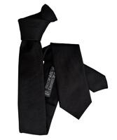 Cravate Segni Disegni CLASSIC, Slim Noir