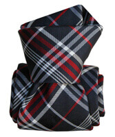 Cravate Segni Disegni LUXE, Faite main livigno bleu marine