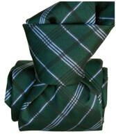 Cravate Segni Disegni LUXE, Faite main, Coventry verte